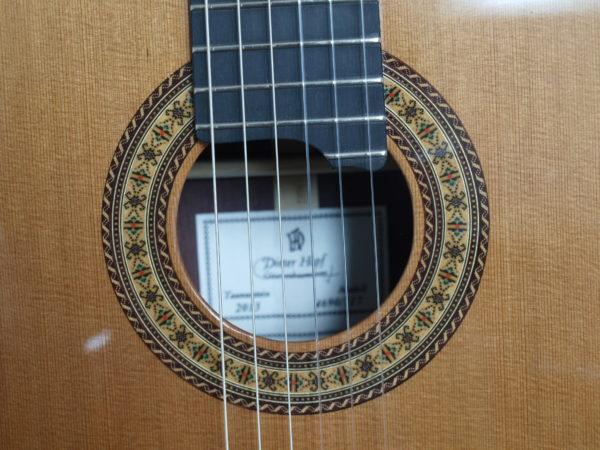 Dieter Hopf portentosa grande furioso classical guitar luthier