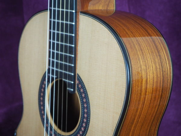 classical guitar luthier Robin Moyes  for sale www.concert-classical-guitar.com