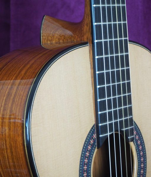 classical guitar luthier Robin Moyes
