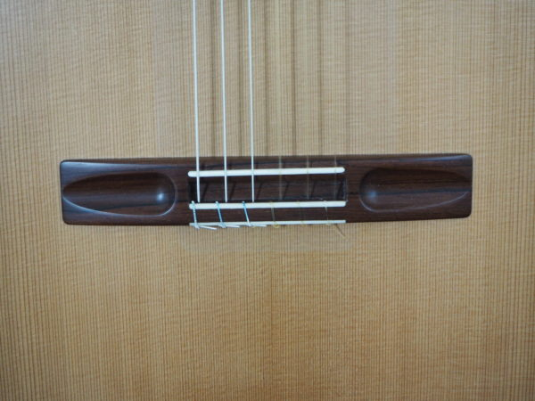 classical guitar luthier Robin Moyes easel