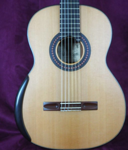 classical guitar luthier Robin Moyes www.concert-classical-guitar.com