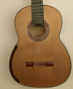 Greg Smallman classical guitar luthier lattice 2010