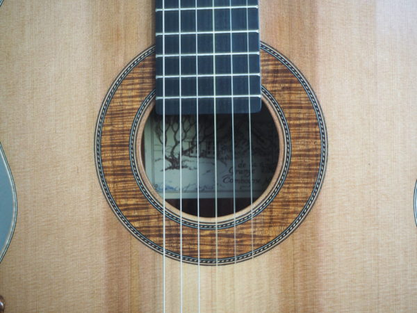classical guitar of luthier  graham caldersmith disponible sur www.concert-classical-guitar.com