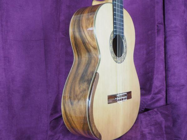 Dan Kellaway classical guitar luthier lattice