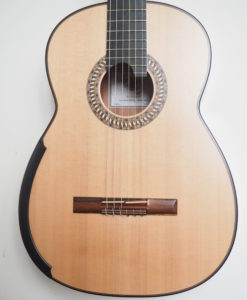 Allan Bull classical guitar luthier lattice