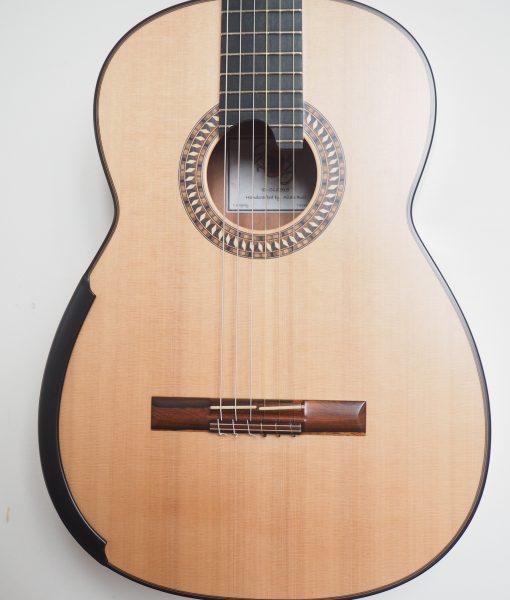 Allan Bull classical guitar luthier lattice  15BUL515-06