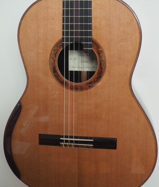 Régis Sala classical guitar model lattice Australe
