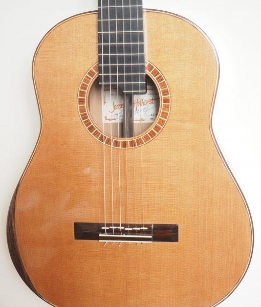 Jeroen Hilhorst classical guitar luthier 111