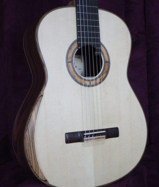 Paul sheridan classical guitar de concert lattice
