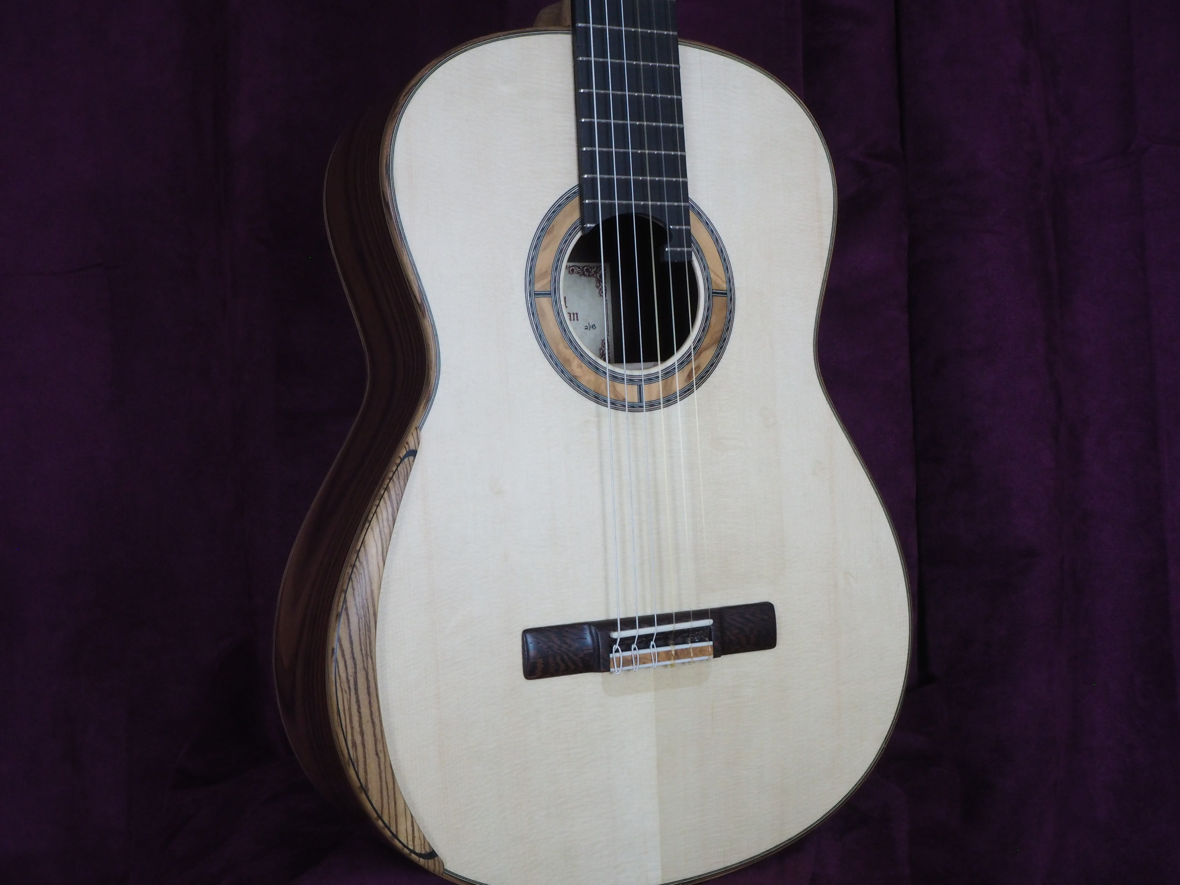 Paul sheridan classical guitar de concert lattice