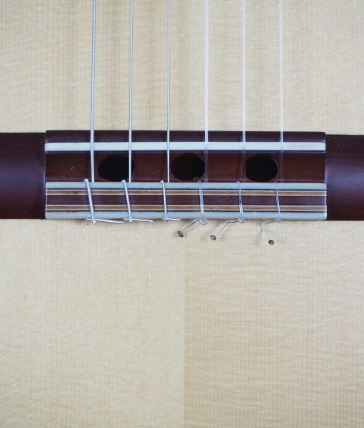 Jim Redgate classical guitar luthier lattice easel