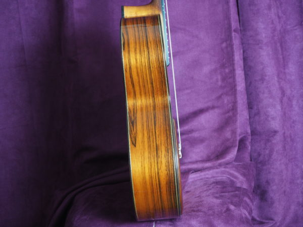 Jim Redgate classical guitar luthier lattice coté