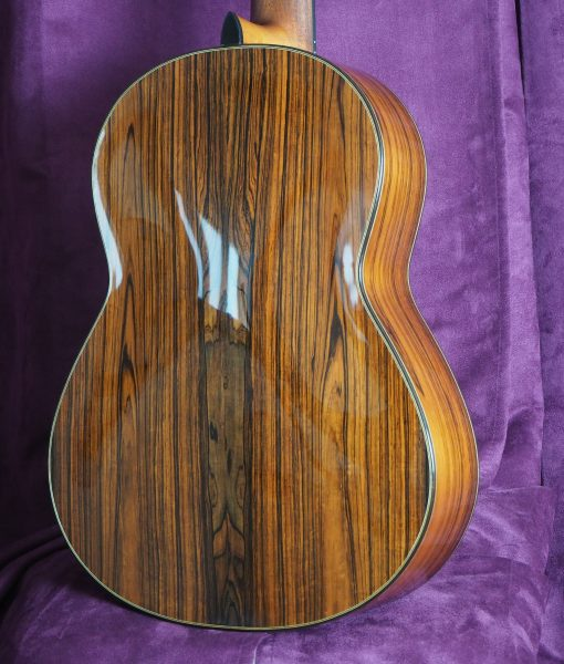 Jim Redgate classical guitar luthier lattice back