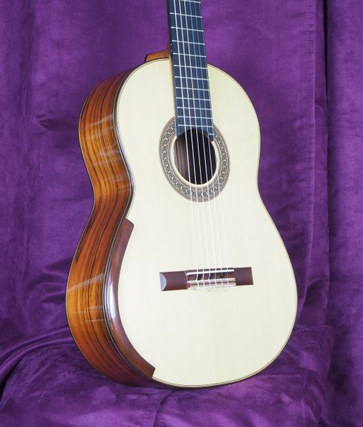 Jim Redgate classical guitar luthier lattice