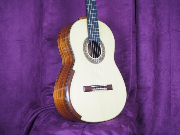 Jim Redgate classical guitar luthier lattice front 2