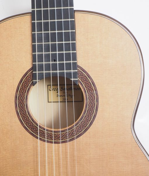 Greg Smallman 2014 classical guitar luthier lattice