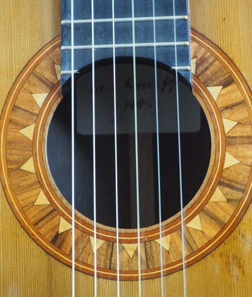 classical guitar luthier ian Kneipp lattice bracing