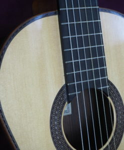 classical guitar luthier Kenny Hill TORRES