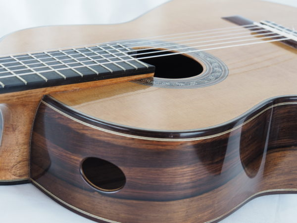 Luthier Charalampos Koumridis classical guitar No 104-08