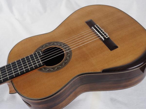 Luthier Charalampos Koumridis classical guitar No 104-10