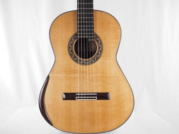 Luthier Charalampos Koumridis classical guitar No 104-04