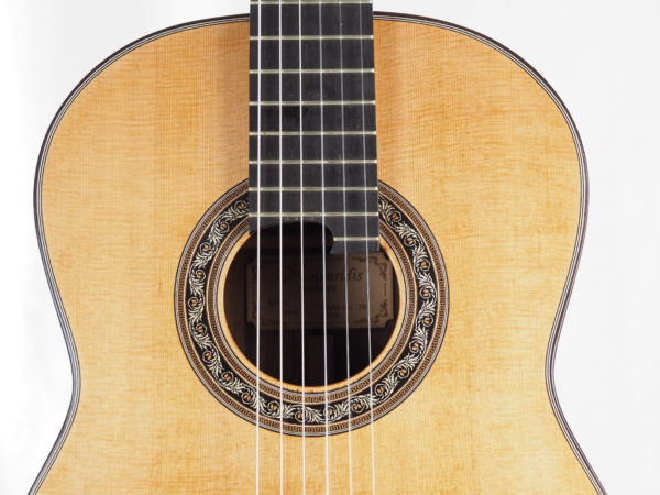 Luthier Charalampos Koumridis classical guitar No 104-05