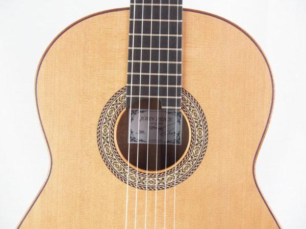 Guitarmaker John Price classical guitar No 382 19PRI382-10