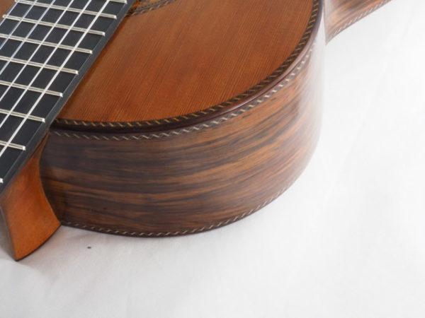 Luthier Dieter Hopf classical guitar Portentosa Evolucion No 5068-10