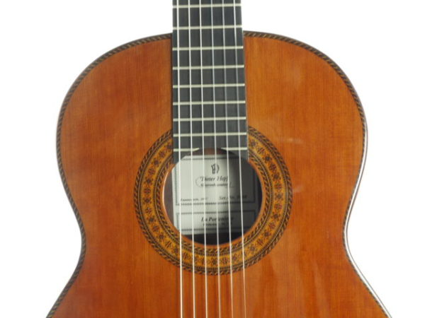 Luthier Dieter Hopf classical guitar Portentosa Evolucion No 5068-04