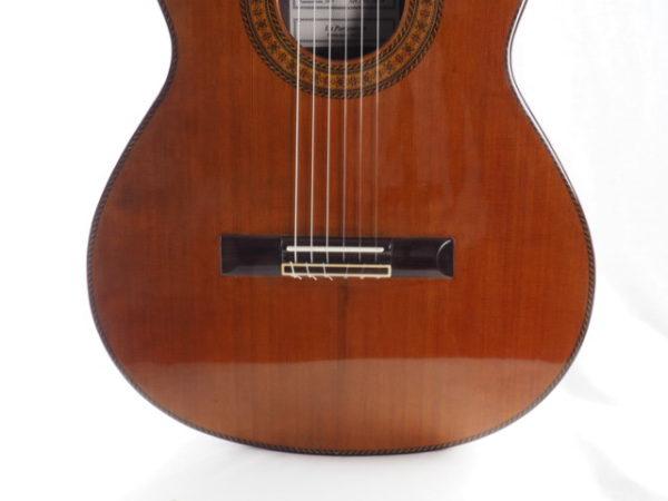 Luthier Dieter Hopf classical guitar Portentosa Evolucion No 5068-05