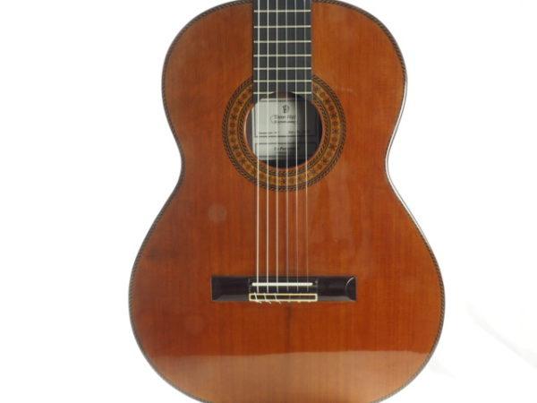 Luthier Dieter Hopf classical guitar Portentosa Evolucion No 5068-06