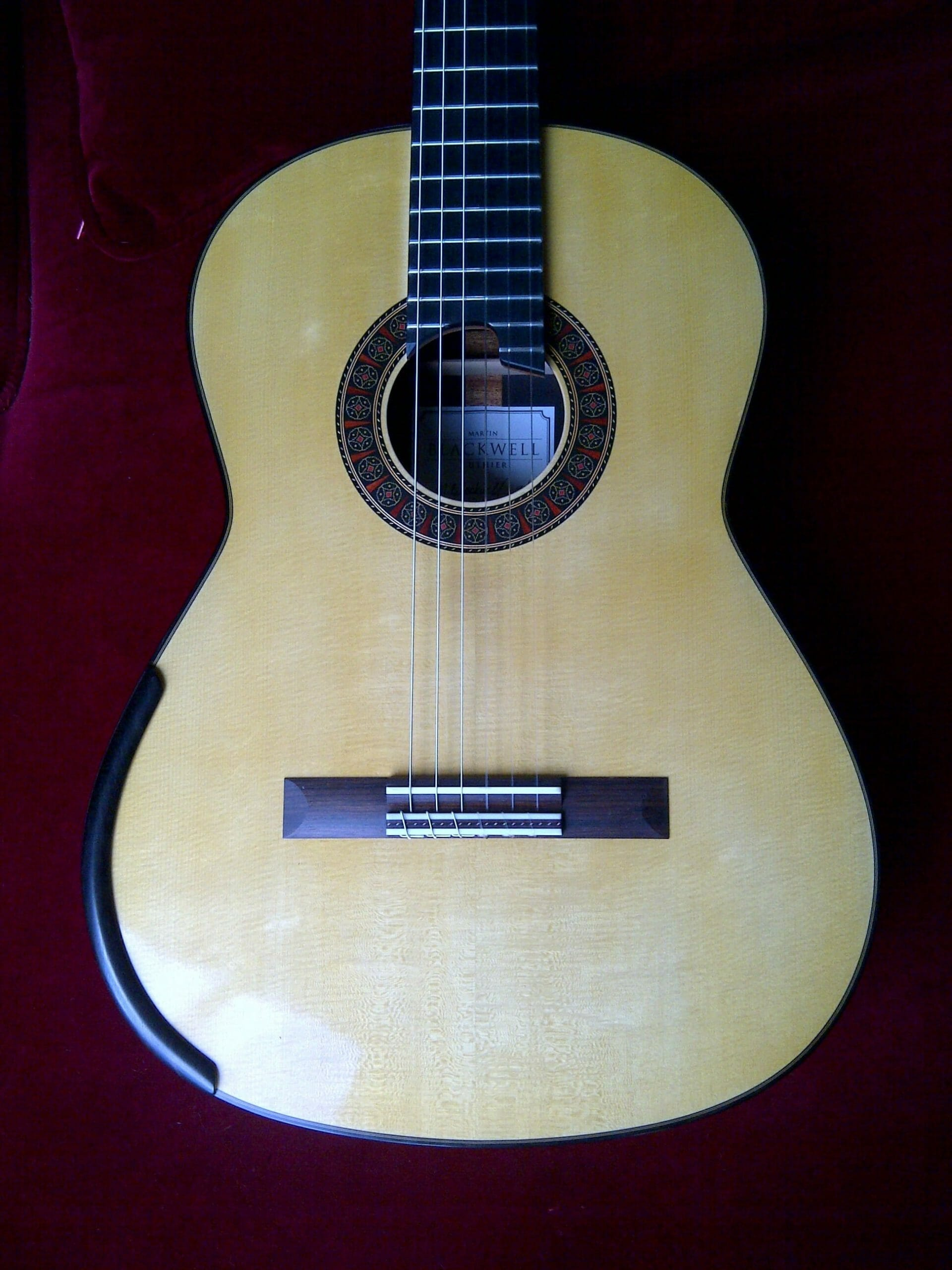 Luthier Martin Blackwell Spruce Classical Guitar 2014 Classical