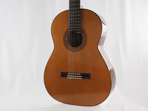 Luthier John Price classical guitar