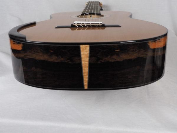 Classical guitar Deluxe model luthier Kim Lissarrague