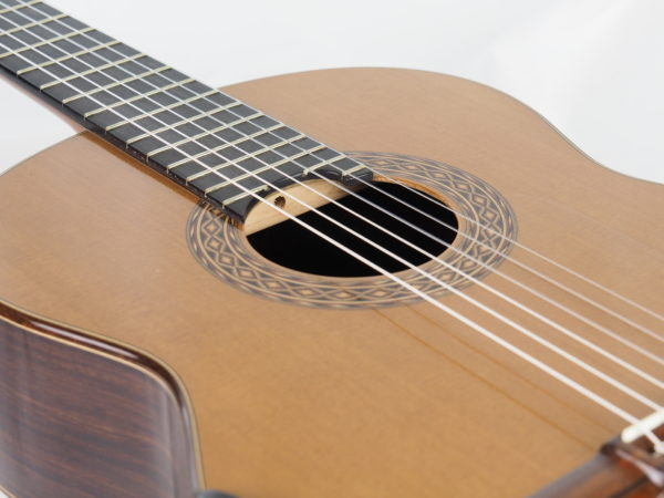 Luthier Kim Lissarrague classical guitar