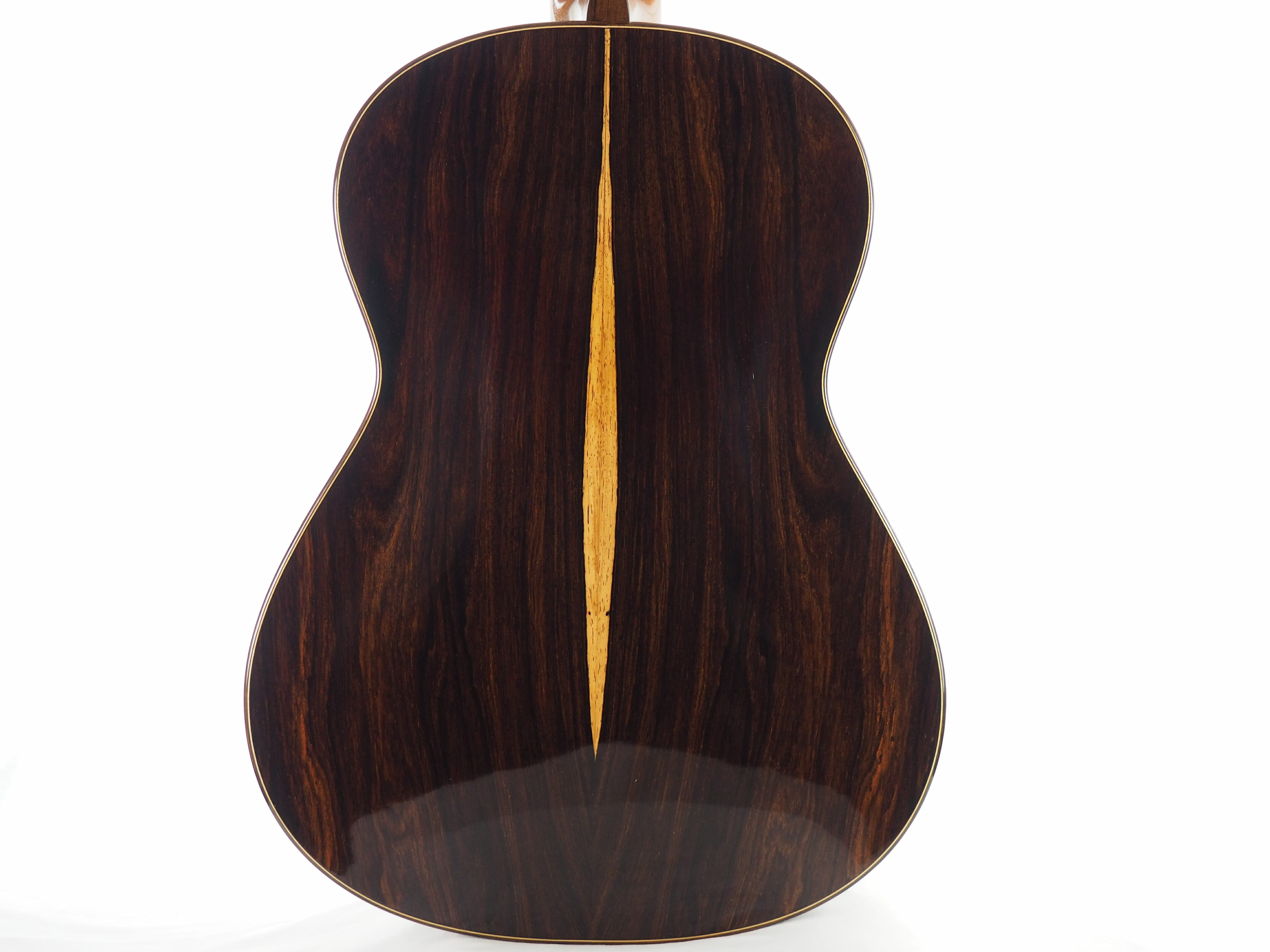 Luthier Kim Lissarrague classical guitar