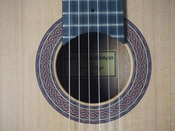 Greg Smallman & sons classical concert luthier lattice bracing  guitar