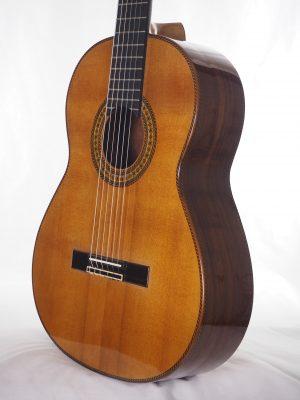 Giutare classique du luthier dieter hopf Portentosa
