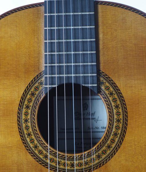 Dieter Hopf Portentosa evolucion 5043 classical guitar luthier lattice