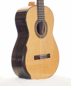 classical guitar of luthier  Kim Lissarrague