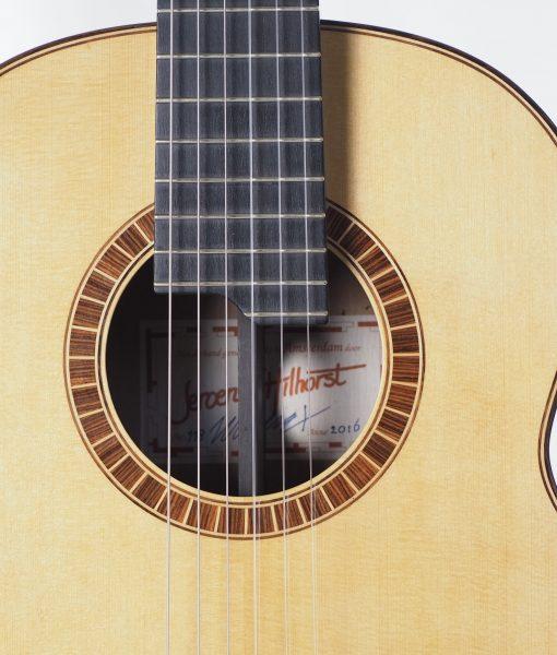classical guitar luthier Jeroen HILHORST 16HIL118 -06