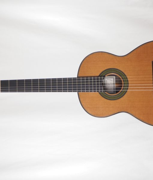 classical guitar of luthier  Reza Safavian