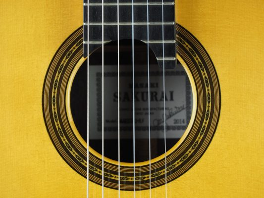 Masaki Sakurai Maestro-RF classical guitar luthier
