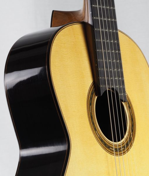 Gregory Byers classical guitar lattice bracing épicéa luthier