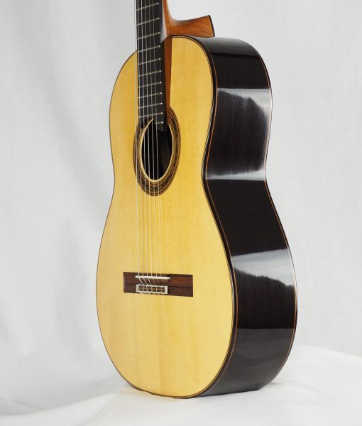 Gregory Byers classical guitar barrage luthier lattice épicéa
