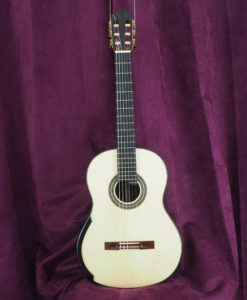 luthier stanislaw Partika classical guitar