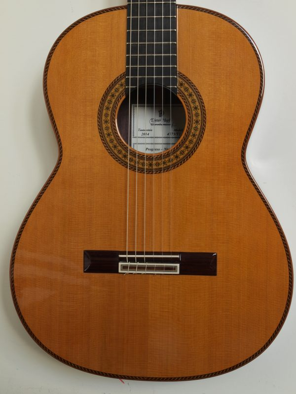 classical guitar Dieter hopf double-top Progresso
