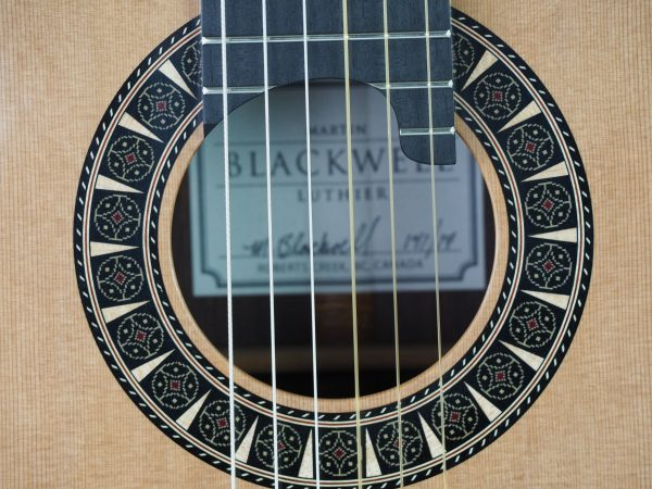 Classical guitar double-top from the luthier Martin Blackwell17BLA141-09