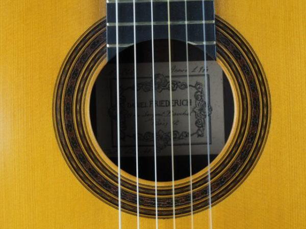 Guitarmaker Daniel Friederich n°266 1970 brazilian rosewood 18FRI266-08