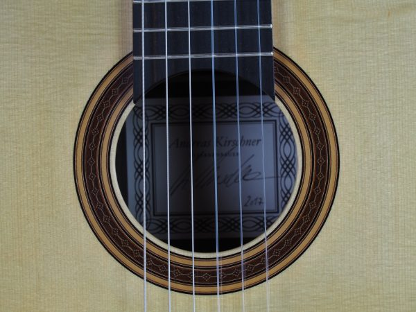 luthier Andreas Kirschner classical guitar 17KIR017-01